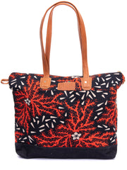 Crafts with Meaning Tote Bag - Red Print