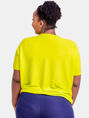 Vivo Abby Loose Top - Light Green
