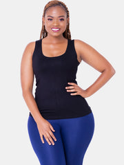 Vivo Val Tank Top - Black - Shop Zetu