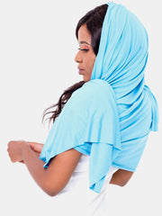 Vivo Scarf/Head Wrap - Blue - Shop Zetu