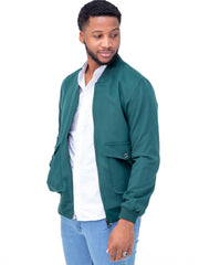 Naiwear Bomber Jacket - Dark Green