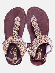 Ikwetta Dreams Sandals - Gold - Shop Zetu