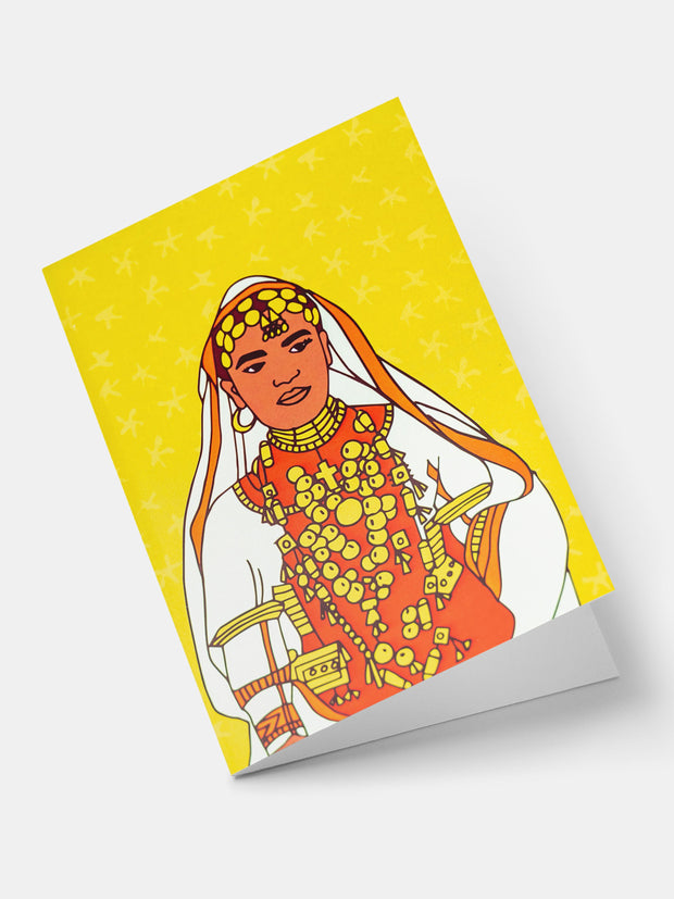 Lulu Creatives Vintage Greeting Cards - Bedouin - Shop Zetu
