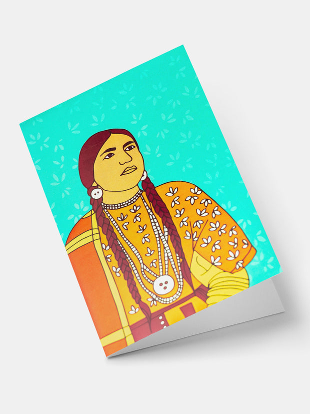 Lulu Creatives Vintage Greeting Cards - Native American - Shop Zetu