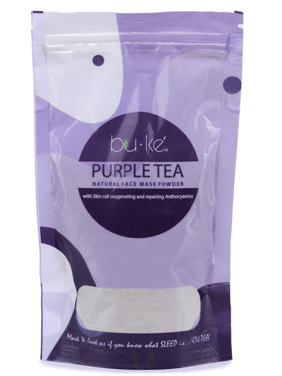 BU-KE' Purple Tea Face Mask Powder - Shop Zetu