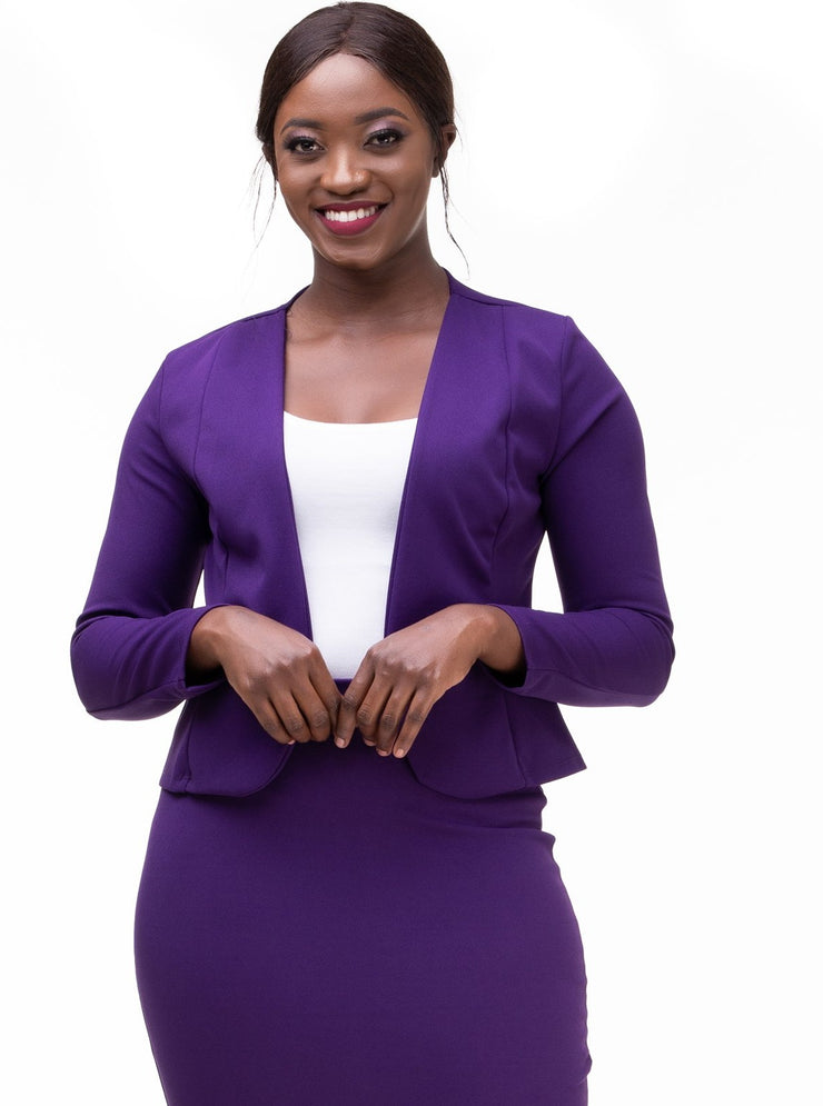 Vivo Basic Escape Jacket - Dark Purple