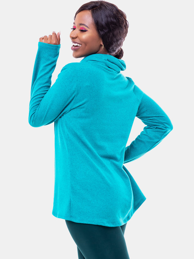 Vivo Tulip Sweater - Sea Green