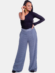 Vivo Nandi Lined Pants - Blue Print - Shop Zetu