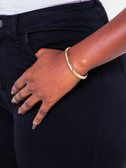 Soko Sabi Outline Cuff - Brass
