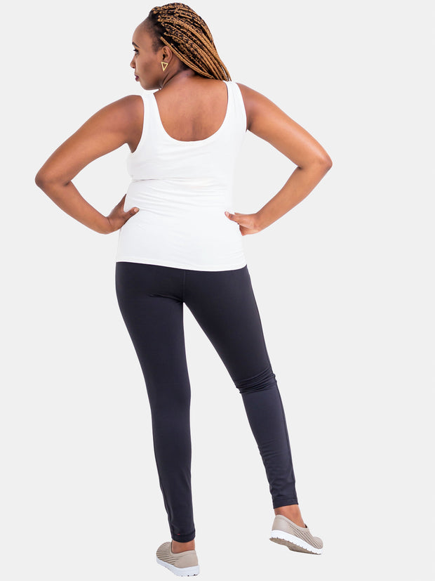 Vivo Black Fitness  Full Length Pants