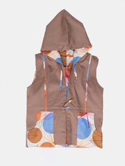 Kipepeo Safari Unisex Reversible Sleeveless Jacket