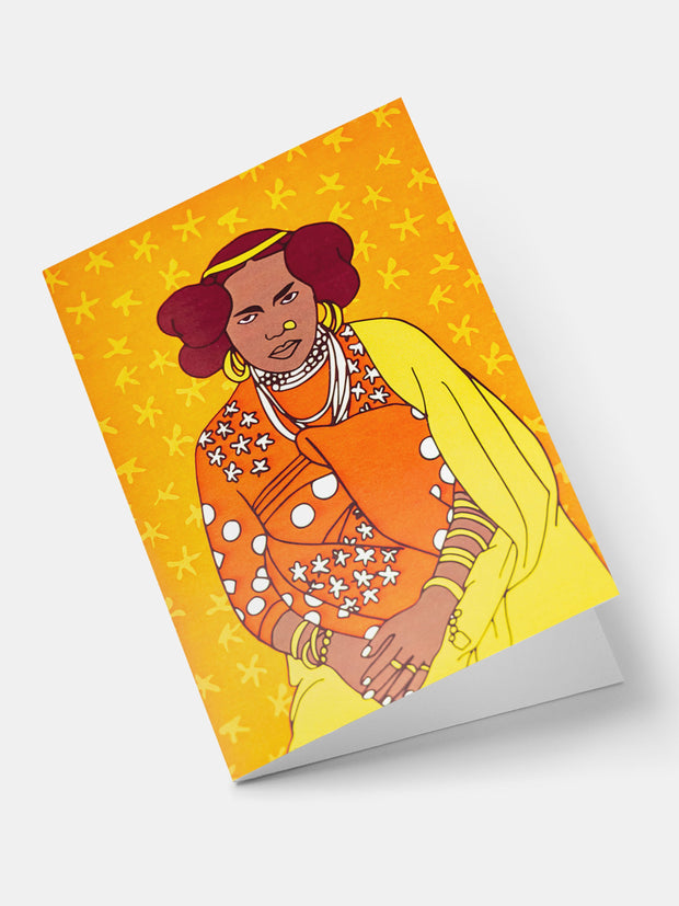 Lulu Creatives Vintage Greeting Cards -  Afro-Brazillian - Shop Zetu