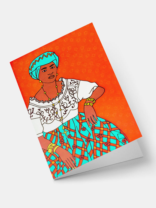 Lulu Creatives Vintage Greeting Cards - Malagasy - Shop Zetu
