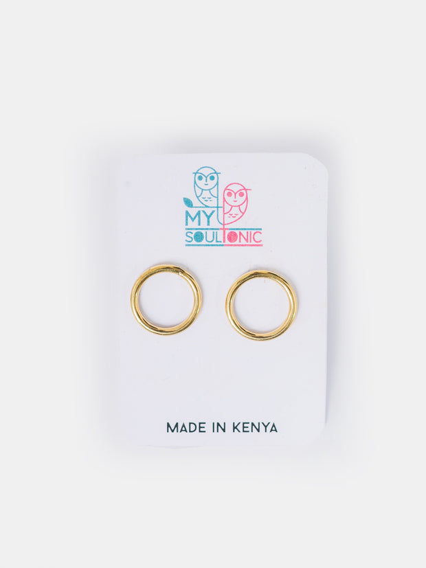 My Soul Tonic Circle Earrings - VivoWoman