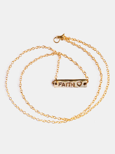 Guo Studio Faith Necklace - Shop Zetu