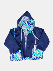 Kipepeo T&E Reversible Bomber Jacket - Navy-Blue