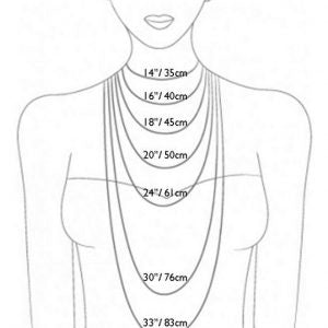 7674f9483f3ce Necklace size chart – Rubyard