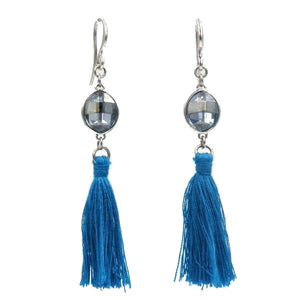 Swarovski Element Tassel Earrings