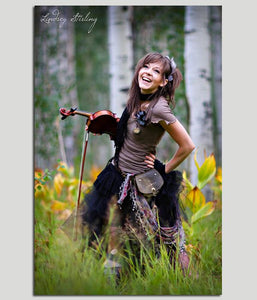 Lindsey Stirling Laughing Lindsey Poster