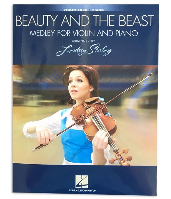 Lindsey Stirling Beauty And The Beast Medley For Violin And Piano Book