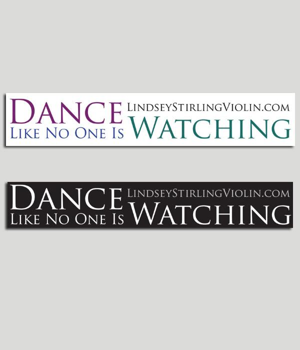Lindsey Stirling Dance Like No One is Watching Sticker