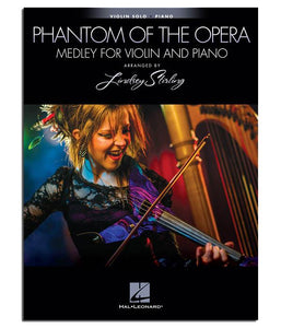 LS Phantom Of The Opera Medley For Violin & Piano Book