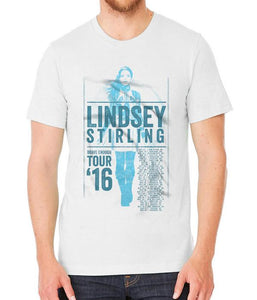 Lindsey Stirling Brave Enough 2016 Tour Shirt