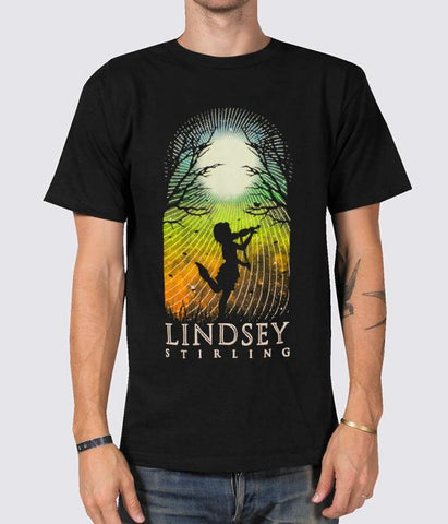 Lindsey Stirling 2015 USA Tour Shirt