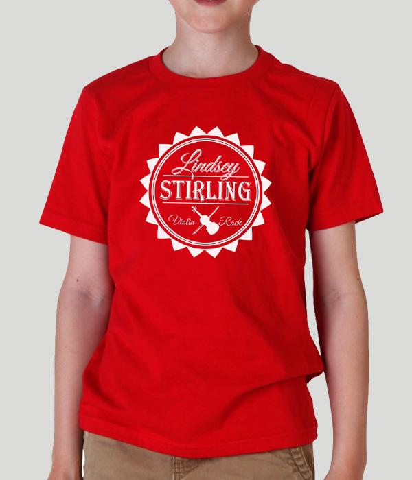 Lindsey Stirling Sun Logo Kids Shirt