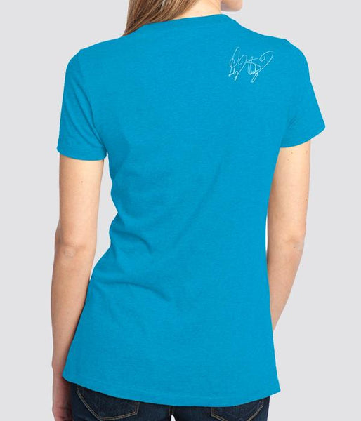 Lindsey Stirling Bright Silhouette Womens Shirt