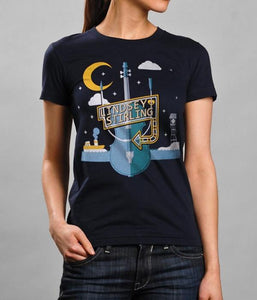 Lindsey Stirling Poster European Tour Womens Shirt