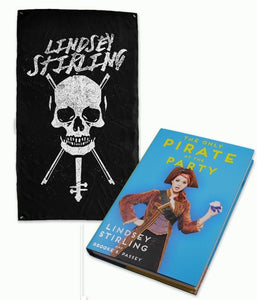 Lindsey Stirling Pirate Book + Flag Bundle