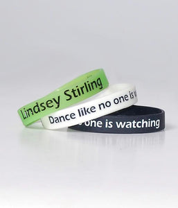Lindsey Stirling Dance Like No One is Watching Wristband