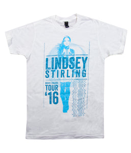Lindsey Stirling Brave Enough 2016 Tour Womens Shirt