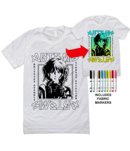 Lindsey Stirling Coloring Artemis Shirt