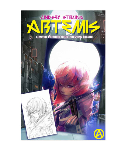Lindsey Stirling Artemis Comic Book Preview