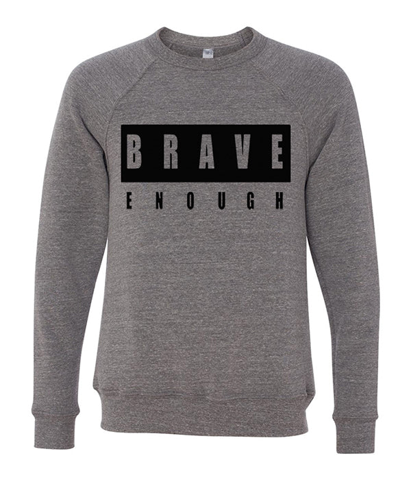 Lindsey Stirling Brave Text Crewneck Sweatshirt