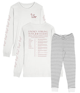 Lindsey Stirling Home For The Holidays Recipe Pajama Set