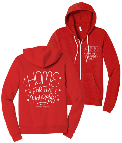 Lindsey Stirling Home Scribble Zip Hooded Sweatshirt
