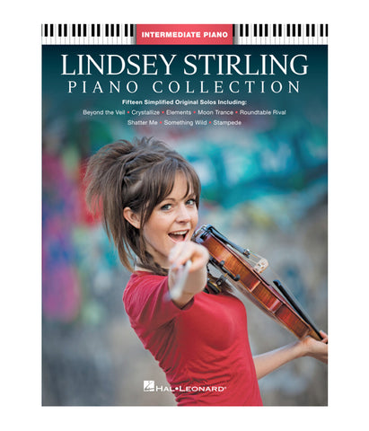 Lindsey Stirling Piano Collection Music Book (Intermediate Piano / Red)
