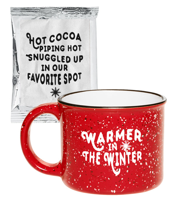 Lindsey Stirling Warmer In The Winter Coffee Mug & Hot Cocoa Bundle