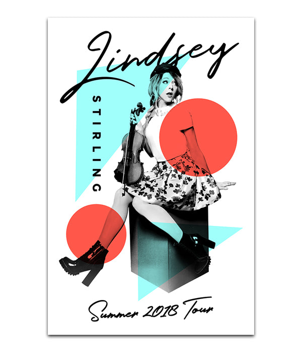 Lindsey Stirling Summer 2018 Tour Poster