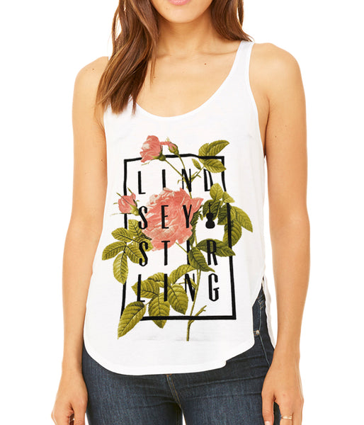 Lindsey Stirling Rose Box Womens Tank Top