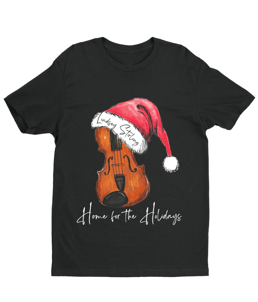 Lindsey Stirling Santa Hat Violin Shirt