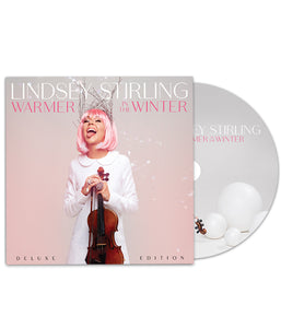 Lindsey Stirling Warmer In The Winter Deluxe Edition CD Bundle *PREORDER SHIPS 10/19