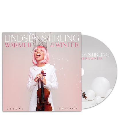 Lindsey Stirling Warmer In The Winter Deluxe Edition CD Bundle