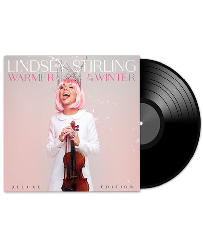 Lindsey Stirling Warmer In The Winter Deluxe Edition Vinyl Bundle