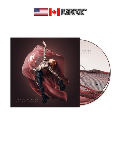 "Lindsey Stirling ""Brave Enough"" CD"