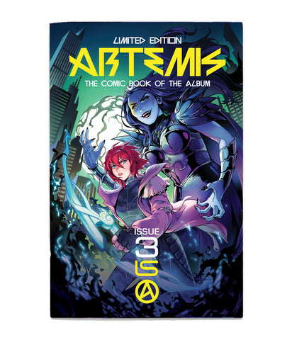 Lindsey Stirling Artemis Comic Book - Issue III