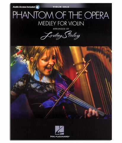LS Phantom Of The Opera Medley for Violin Solo w/ Karaoke Track (Book)